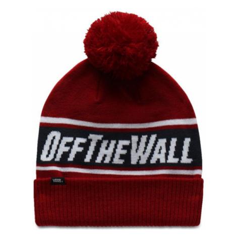 Zimná čiapka VANS MN OFF THE WALL POM BIKING RED