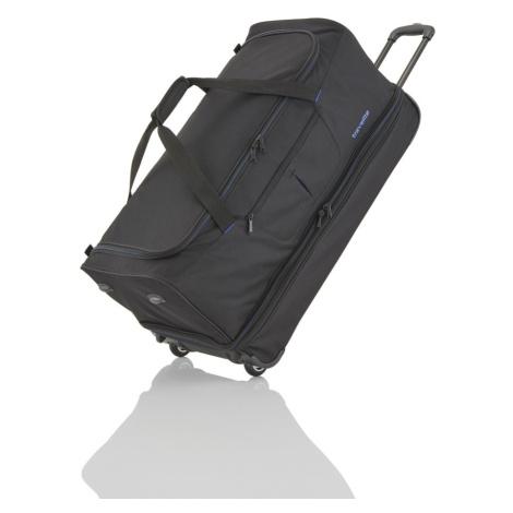 Travelite Cestovná taška Basics L Black/blue 98/119 l