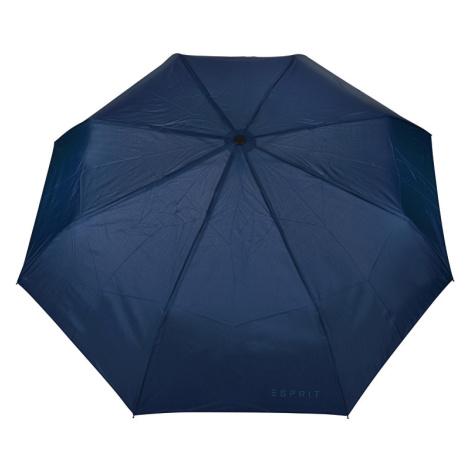 Esprit Skladací mechanický dáždnik Mini Basic uni Sailor Blue