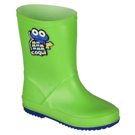 Coqui RAINY zelená - Detská obuv