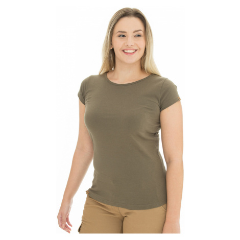Dámske olivové tričko Bushman Natalie II