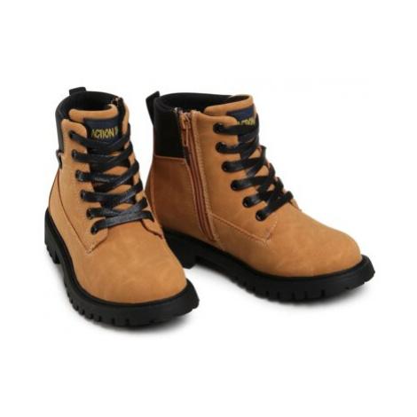 Šnurovacia obuv Action Boy AVO-222-020 Ekologická koža/-Ekologická koža