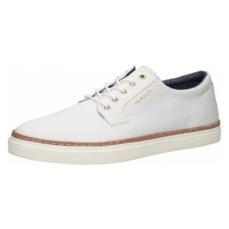 GANT Šnurovacie topánky  biela