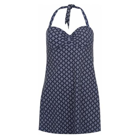 Dámske plavkové šaty Full Circle Halter