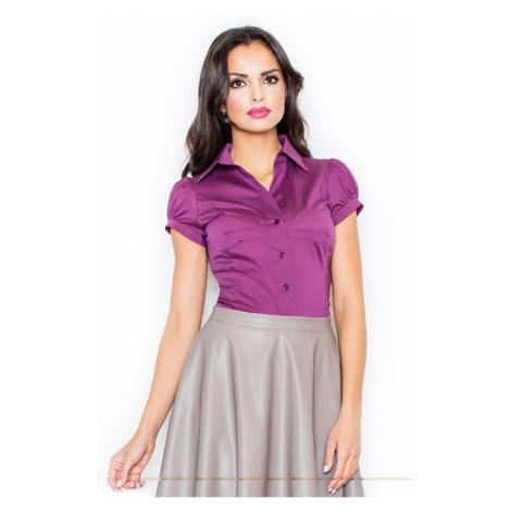 Figl Woman's Shirt M026 Eggplant
