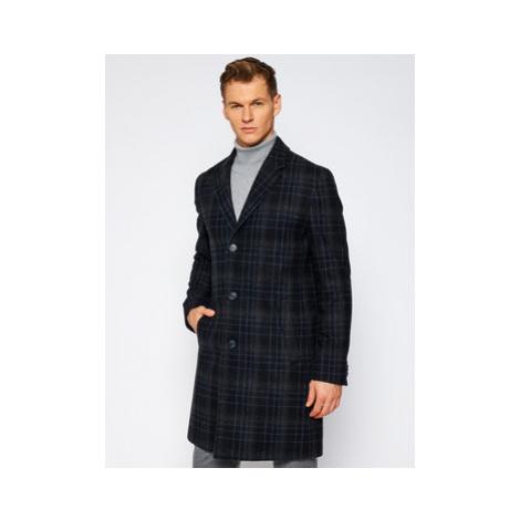 Hugo Prechodný kabát 50415957 Čierna Regular Fit Hugo Boss