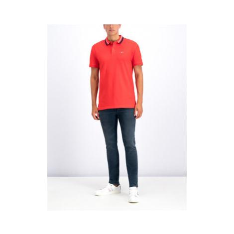 Tommy Jeans Skinny Fit džínsy Simon DM0DM06413 Tmavomodrá Skinny Fit Tommy Hilfiger