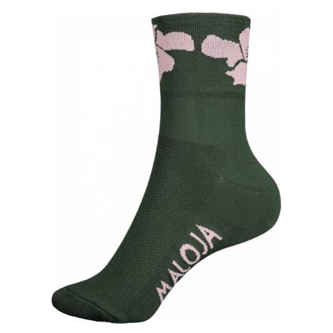 Ponožky Maloja SomnixM. zelené