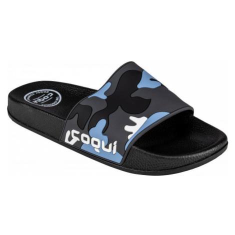Coqui FLEXI modrá - Pánske šľapky