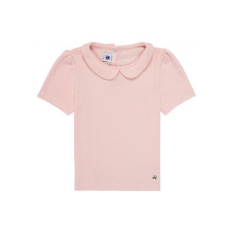 Ružové topy a tričká pre dojčatá a batoľatá