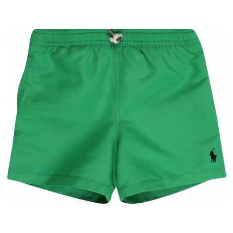 POLO RALPH LAUREN Plavecké šortky 'TRAVELER SHO-SWIMWEAR-BOXER'  zelená