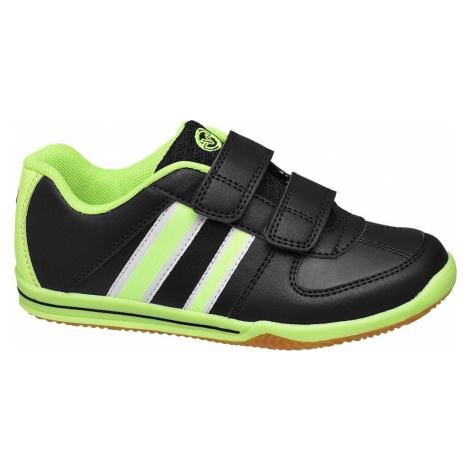 Victory - Čierno-zelené tenisky na suchý zips Victory