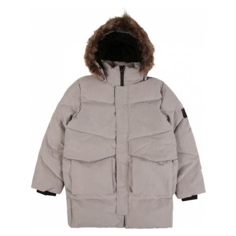 NAME IT Zimná bunda 'Neut'  sivá