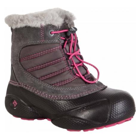 Columbia YOUTH ROPE TOW ružová - Detská zimná obuv