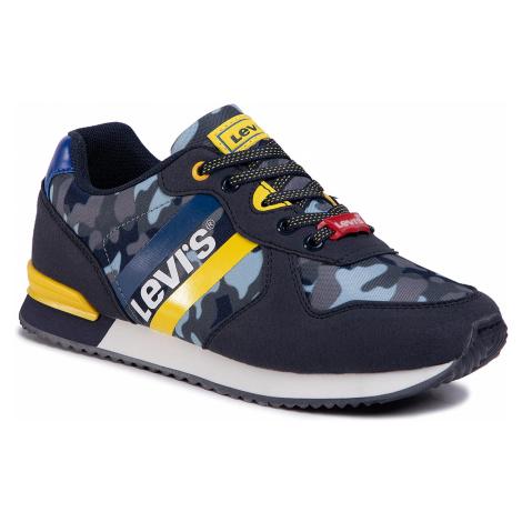 Sneakersy LEVI'S - VSPR0021T Navy Camo 0789 Levi´s