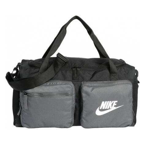 Nike Sportswear Kabelky 'Y NK FUTURE PRO DUFF'  sivá / čierna