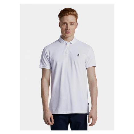 Biele pánske polo tričko Tom Tailor Denim