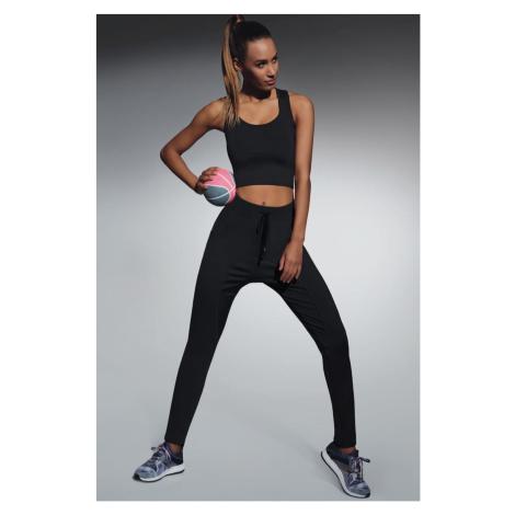 Fitness legíny Lorena black Bas Bleu