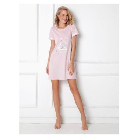 Nočná košieľka Aruelle Sharon Nightdress Růžová