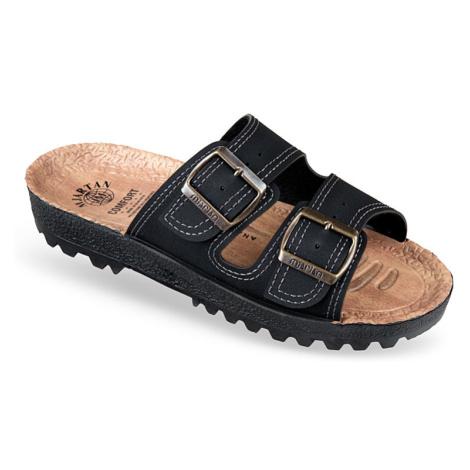 Pánske čierne papuče MJARTAN IGGY