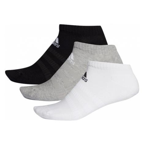 ADIDAS PERFORMANCE Športové ponožky  čierna / biela / sivá