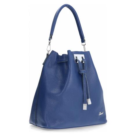 Karen Woman's Bag Sl10 Zori Navy Blue Karen Millen