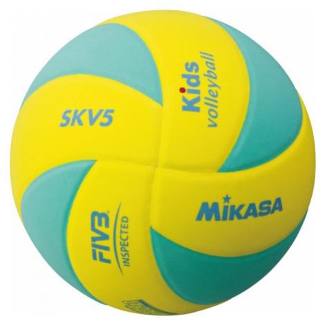 Mikasa SKV5 žltá - Detská volejbalová lopta