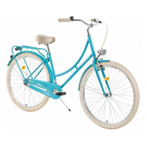 "Mestský bicykel DHS Citadinne 2832 28"" - model 2018 Farba Light Green"