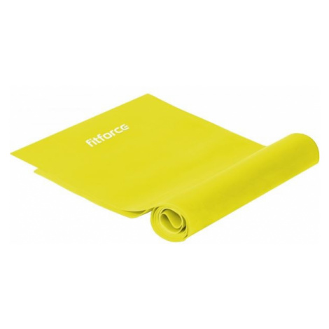 Fitforce EXEBAND250x0,015 žltá - Cvičebná guma