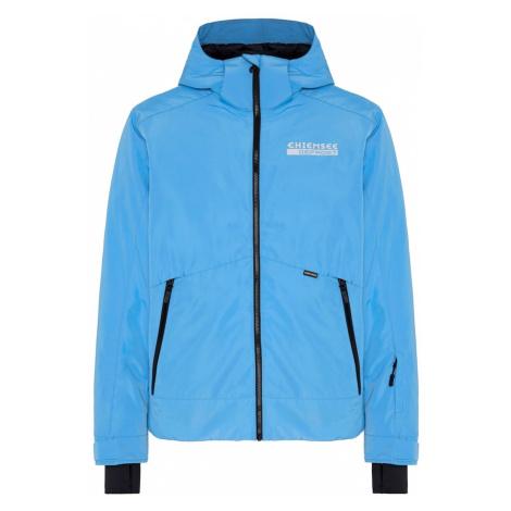 CHIEMSEE Športová bunda  nebesky modrá / čierna / biela