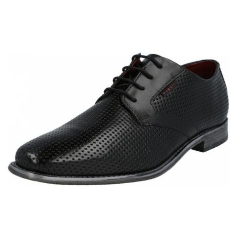 bugatti Šnurovacie topánky 'Armo'  čierna