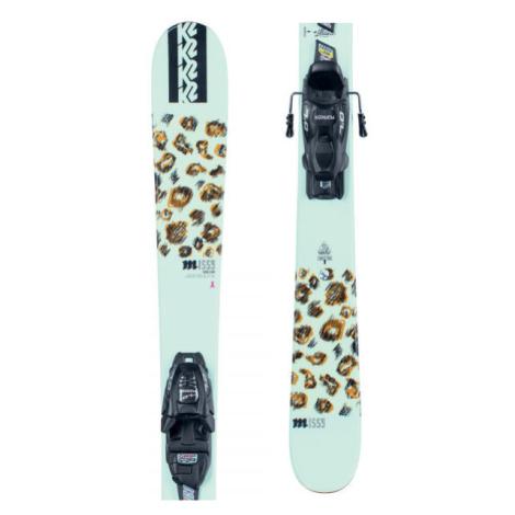 K2 MISSY FDT 4.5 - Dievčenské allmountain lyže s viazaním