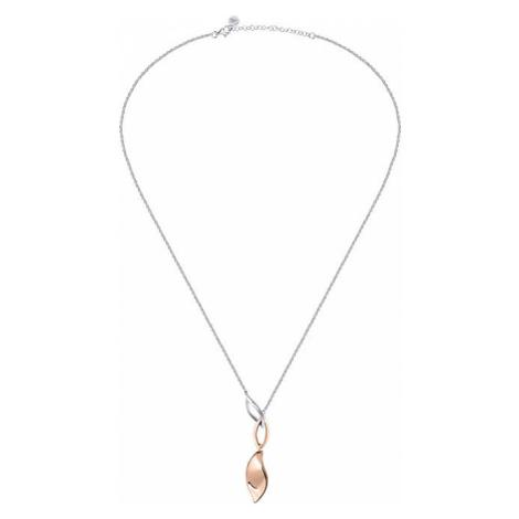 Morellato Strieborný náhrdelník Foglia SAKH46