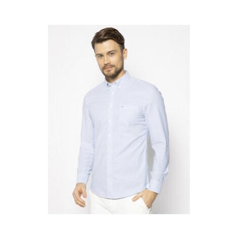 Marc O'Polo Košeľa 022 7548 42204 Modrá Shaped Fit