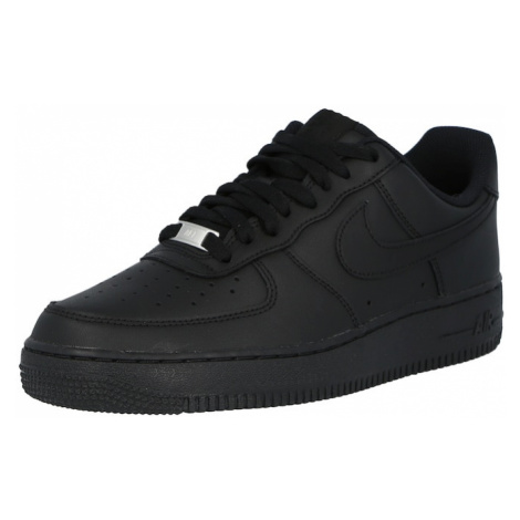 Nike Sportswear Nízke tenisky 'AIR FORCE 1 '07'  čierna