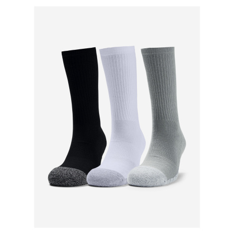 Ponožky Under Armour Heatgear Crew-Gry Farebná