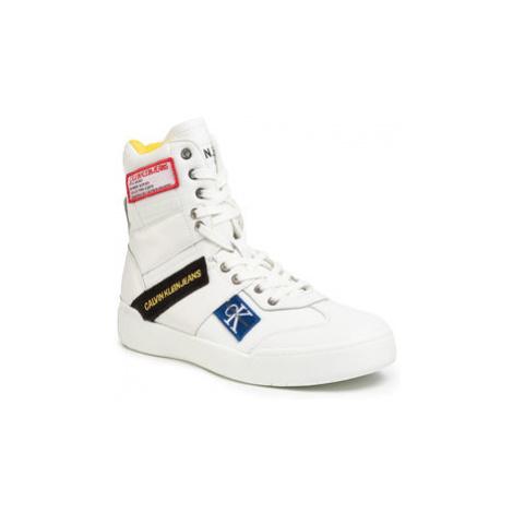 Calvin Klein Jeans Sneakersy Norton Nappa Leather S0580 Biela