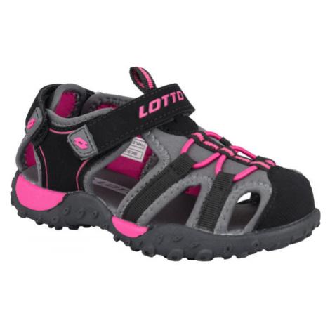 Lotto MAYPOS šedá - Dievčenské sandále