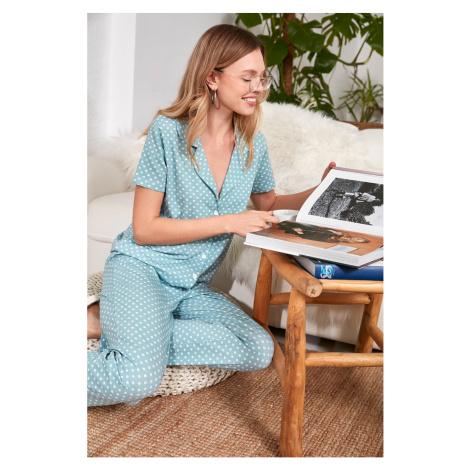 Dámske pyžamo Trendyol Patterned