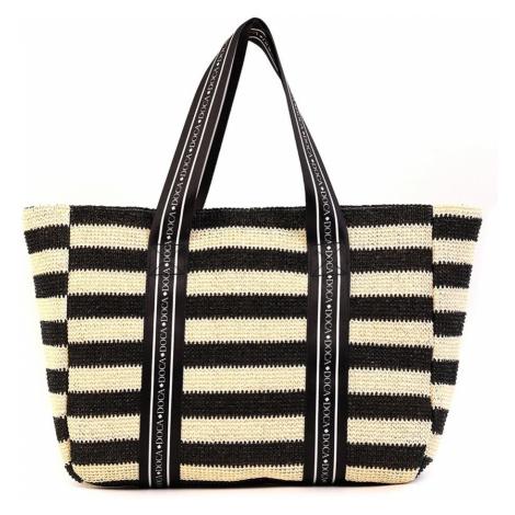 Dámska plážová taška Elle čierna Doca