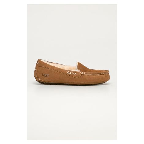 UGG - Semišové papuče Ansley