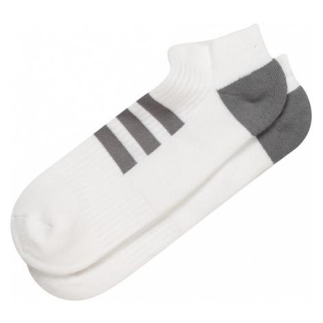 adidas Golf Športové ponožky  sivá / biela