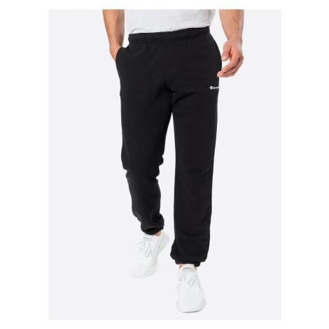 Champion Authentic Athletic Apparel Nohavice 'Elastic Cuff Pants'  čierna