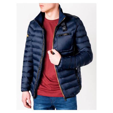 Ombre Clothing Men's mid-season quilted jacket C359