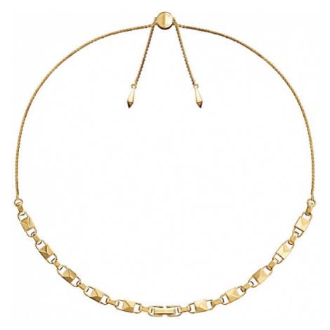 Michael Kors Pozlátený strieborný náhrdelník MKC1018AA710