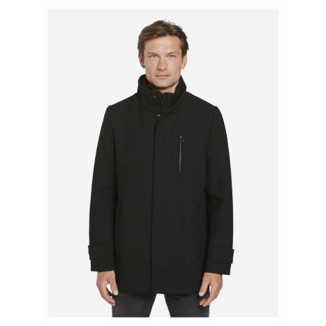 Kabát Tom Tailor Čierna