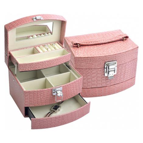 JK Box Ružová šperkovnica SP-304 / A5 / N JKbox