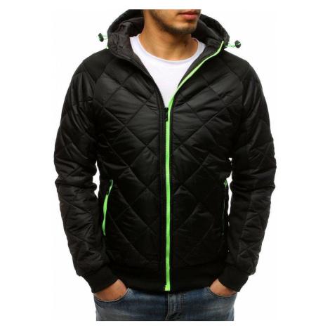 Trendová prešívaná bunda - čierna vtx2598