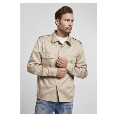 Pánska košeľa BRANDIT US Shirt Farba: olive, Grösse: XXL