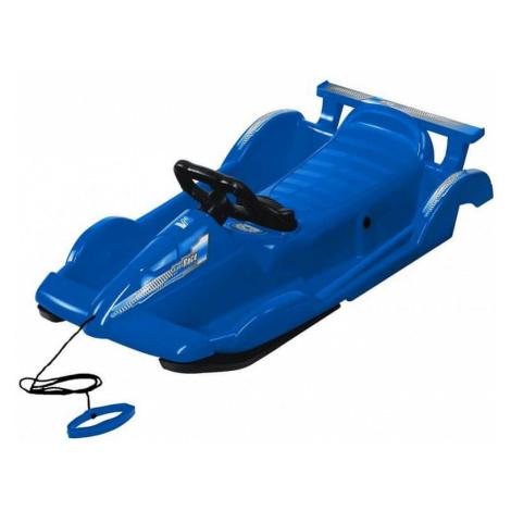 Bob plastový AlpenRace s volantem, modrý AlpenGaudi